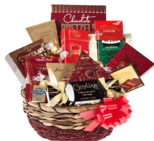 Chocolate Gift Basket Canada